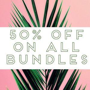 50% Off On Bundles